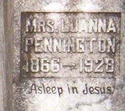 Martha Luanna Lina <i>Cook</i> Pennington