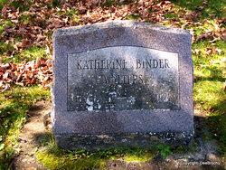 Katharine <i>Binder</i> Walters