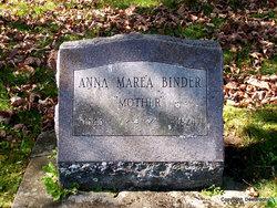 Anna Marie <i>Whitman</i> Binder