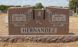 Sgt Salvador E. Hernandez