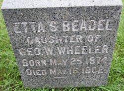 Etta S. <i>Wheeler</i> Beadel