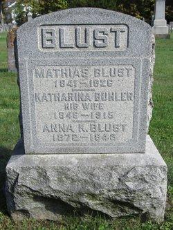 Katharina <i>Buehler</i> Blust