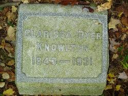Clarissa J. <i>Dyer</i> Knowlton