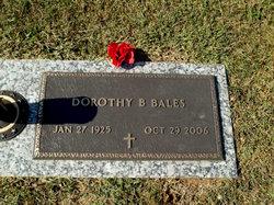 Dorothy Jewel <i>Bettis</i> Bales