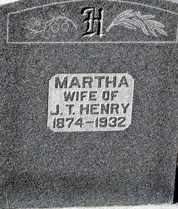 Martha Mattie Aunt Matt <i>Jones</i> Henry