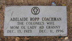 Adelaide <i>Ropp</i> Coachman