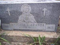 Antonia <i>Tafoya</i> Aranda