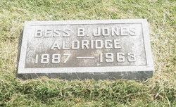 Bess B. <i>Jones</i> Aldridge