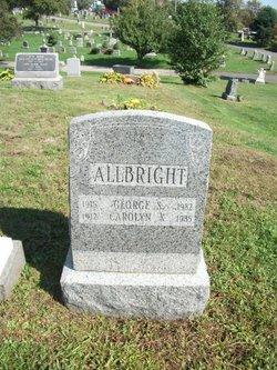Carolyn <i>Kittredge</i> Allbright