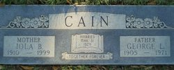 Iola Bell <i>Booth</i> Cain