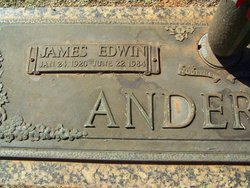 James Edwin Anderson