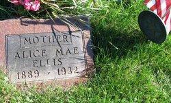 Alice Mae <i>Horel</i> Ellis