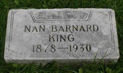Nan <i>Barnard</i> King