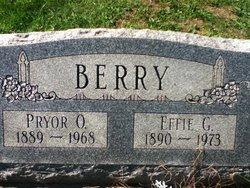 Pryor O. Berry, Sr
