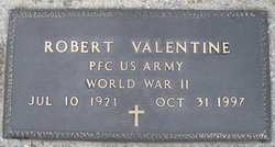 PFC Robert Valentine