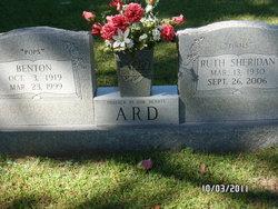 Ruth Toots <i>Sheridan</i> Ard