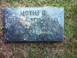 Mary Stella <i>Stanfield</i> Frederick
