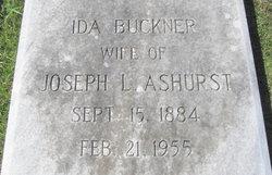 Ida <i>Buckner</i> Ashurst