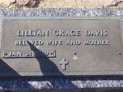 Lillian Grace <i>Meeks</i> Davis