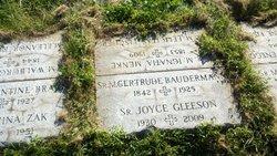 Sr M. Gertrude Baudermann