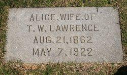 Priscilla Alice <i>Yow</i> Lawrence