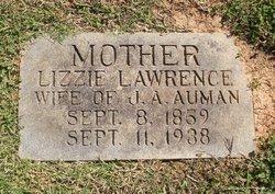 Elizabeth Pereniar Lizzie <i>Lawrence</i> Auman