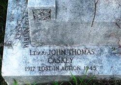 Lieut John Thomas Caskey