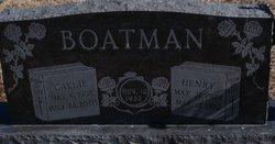 Callie <i>Sherwood</i> Boatman