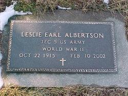 Leslie Earl Albertson