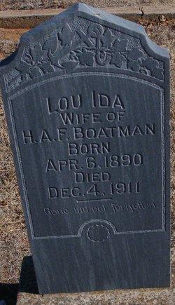Lou Ida Boatman