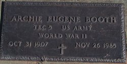 Archie Eugene Booth