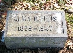Alma <i>Oglesby</i> Ellis
