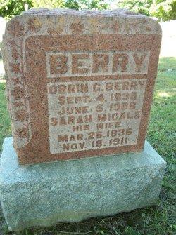 Sarah <i>Mickle</i> Berry