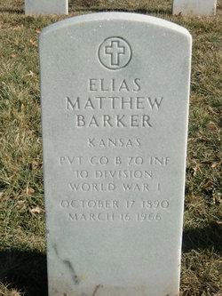 Elias Matthew Barker