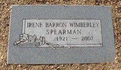 Bertha Irene <i>Barron</i> Spearman