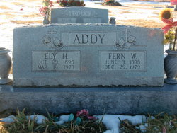 Ely H Addy