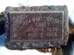 Ada M <i>Wyatt</i> Abbey
