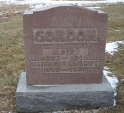 Margaret A. <i>Burgoon</i> Gordon