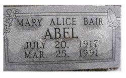 Mary Alice <i>Haungs</i> Abel