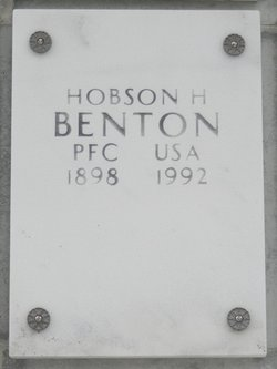 Hobson H Benton