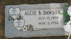 Hessie Alcie Essa Belle Alcie <i>McGOWEN</i> Dawson