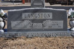 Absolom W Langston