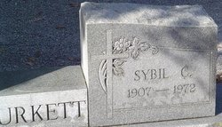 Sybil C Burkett