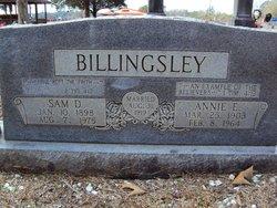 Annie Elizabeth <i>Bond</i> Billingsley