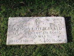 Francis F Fitzgerald