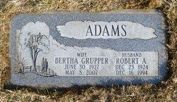 Bertha <i>Grupper</i> Adams