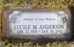 Lucile <i>Morgan</i> Anderson