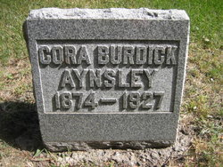 Cora <i>Burdick</i> Aynsley