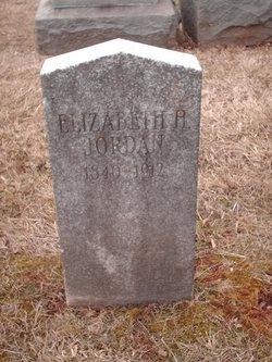 Elizabeth H Jordan
