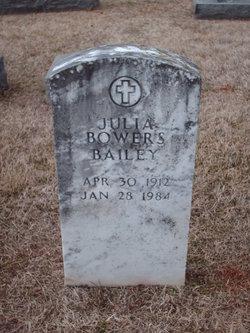 Julia <i>Bowers</i> Bailey